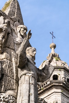 San francisco de asis monument and san francisco church