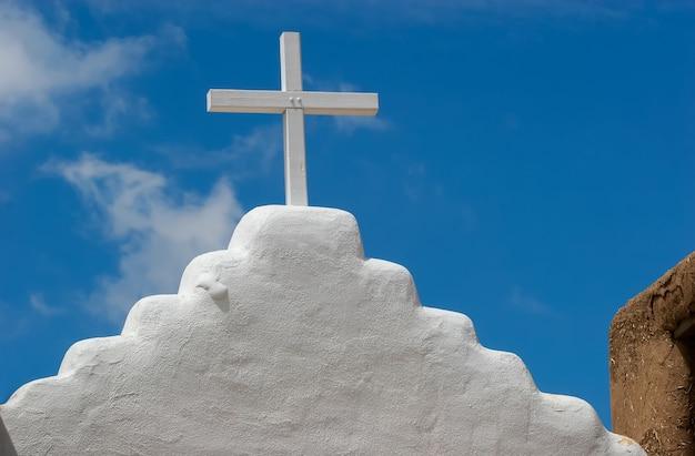 アメリカ、タオスプエブロのサンジェロニモ礼拝堂