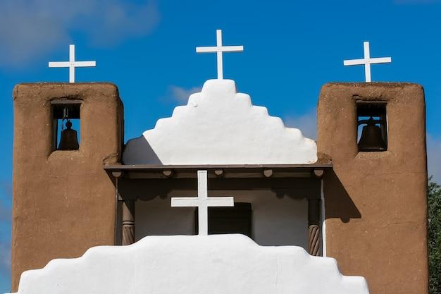 미국 타 오스 푸에블로의 산 제로니모 예배당