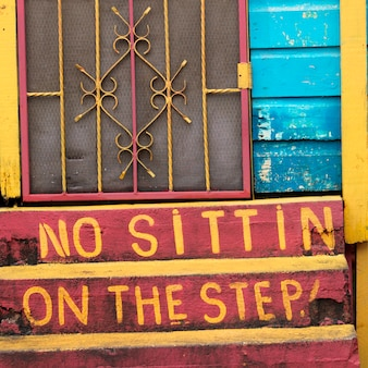 San ignacio, steps
