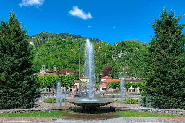 북부 이탈리아의 산 펠레그리노 테르 메 관광 명소