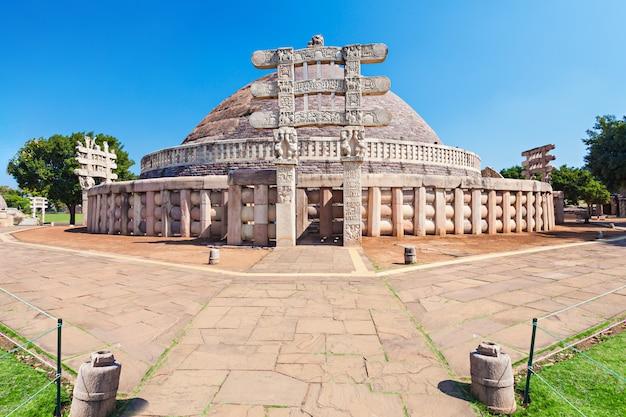 Sanchi stupa、インド