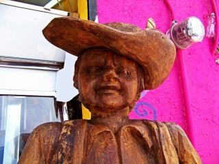 Sancho panza esculpture