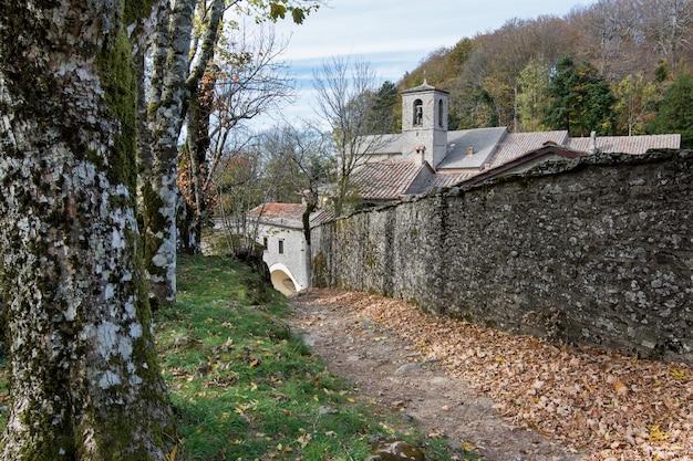 Sanctuary of la verna in tuscany, italy, monastery of st, francis