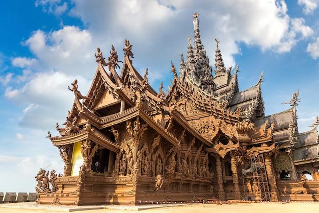 파타야, 태국에서 진실의 성소