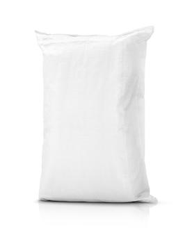 쌀 또는 농산물에 대한 모래 주머니 또는 흰색 플라스틱 캔버스 자루