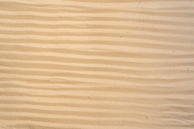 Sand beach background and texture pattern with space.
