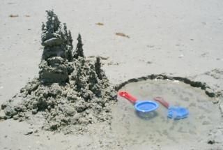 Замок из песка, замок