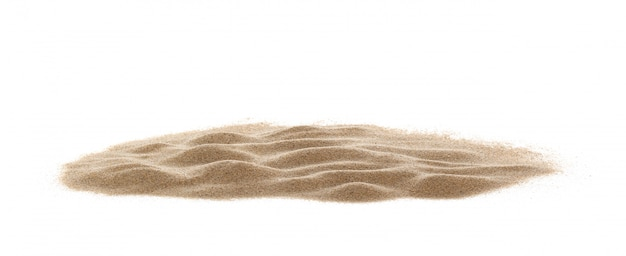 Sand isolated