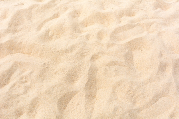 Sand nature on the beach as background