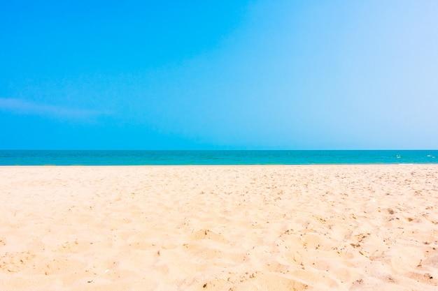 모래와 해변