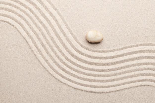 Sand surface texture background art of balance concept