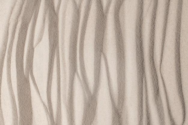 웰빙 개념의 모래 표면 질감 배경