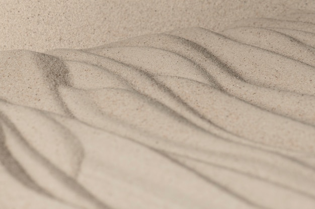 Sand surface texture background in wellness concept