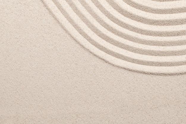 ウェルネスコンセプトの砂波自然テクスチャ背景