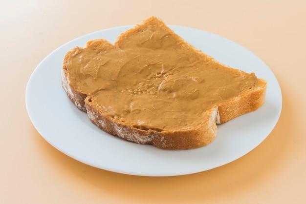 Sandwich of peanut butter