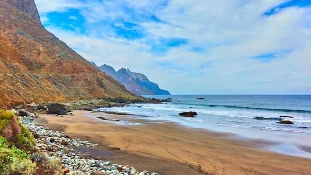テネリフェの砂浜、カナリア諸島