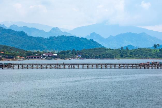 Sangkhla buri, kanchanaburi province, thailand.