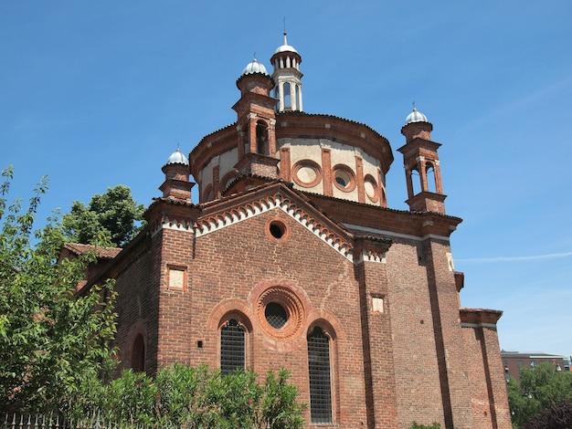Церковь сант-эусторджо, милан