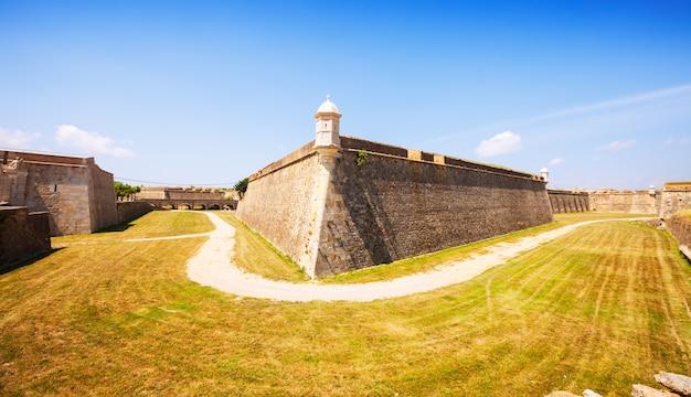 Sant ferran castle in figueres
