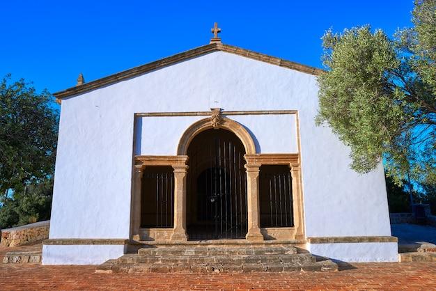 Sant joan hermitage church in denia