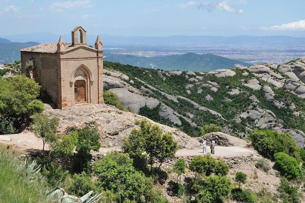 Sant Joan 수도원, Monserrat 프리미엄 사진