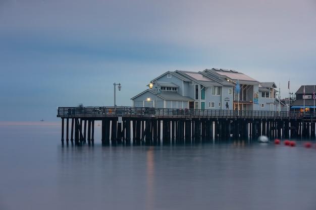 カリフォルニアのサンタバーバラ桟橋
