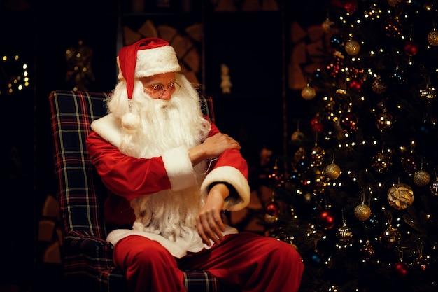 Санта-клаус на рождество