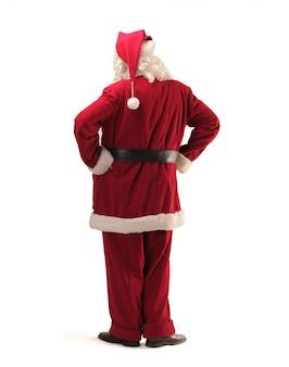 Santa claus's back