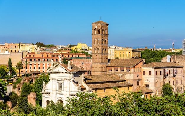 Santa francesca romana church in roman forum