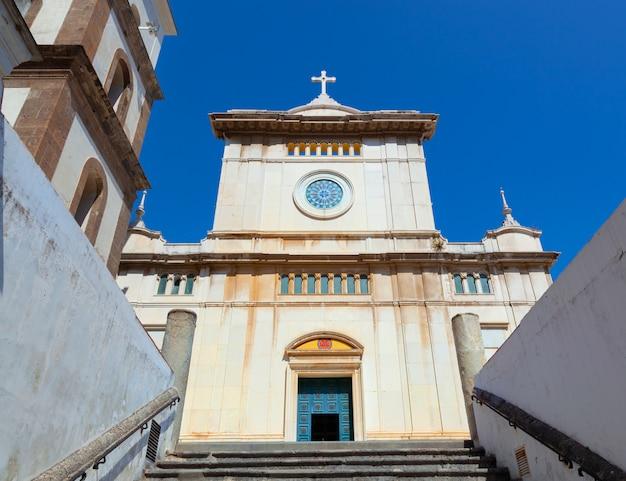 Santa maria assunta church in positano.