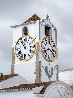Santa maria do castelo church tower in tavira portugal