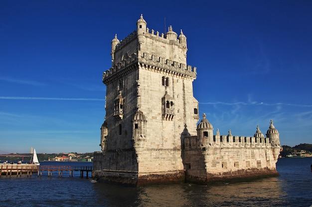 Санта мария де белем - башня белем, португалия