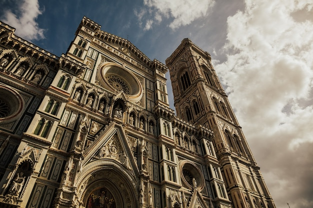 Santa maria delle fiore cathedral in florence, italy.