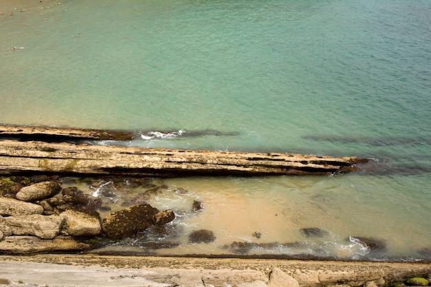 Santander beach, cantabrian sea