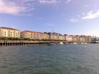 Santander shoreline  spain  panoramic