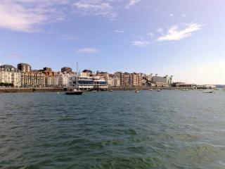 Santander shoreline  spain