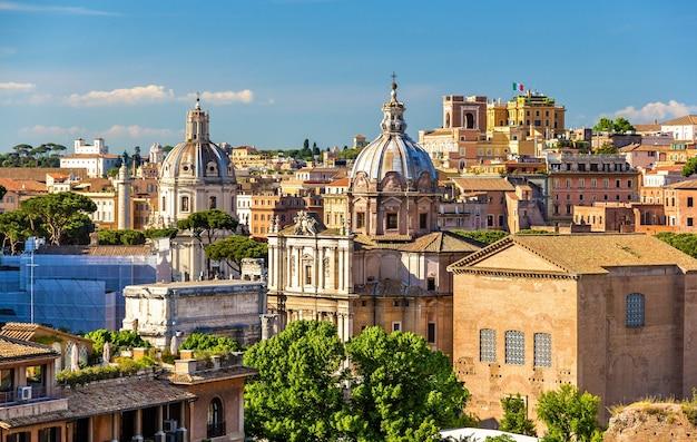 Santi luca e martina, a catholic church at the roman forum