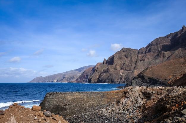カーボベルデのサントアンタオ島