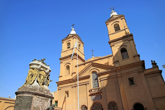 The santo domingo convent or basilica of our lady of the rosary and convent of santo domingo in buenos aires, argentina