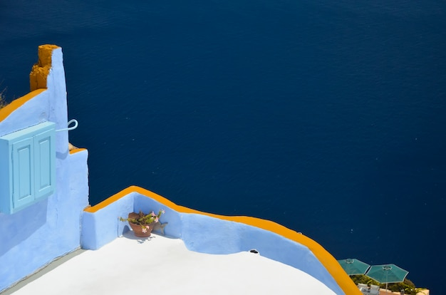 Santorini - beautiful place for a relaxing summer holiday