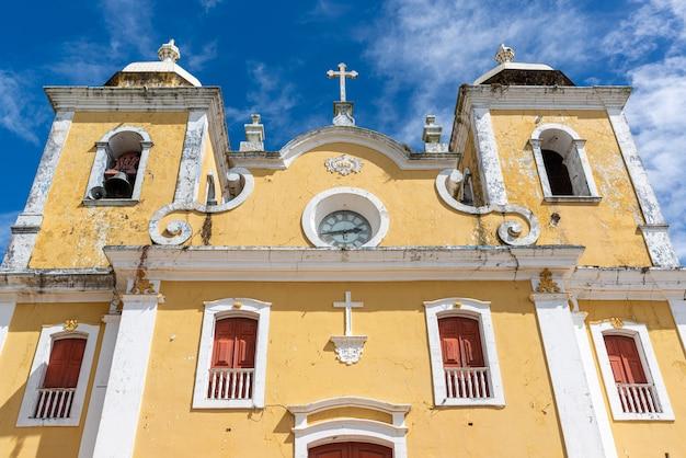 2020년 1월 3일 브라질 미나스제라이스의 상투메 다스 레트라스. 어머니 교회.