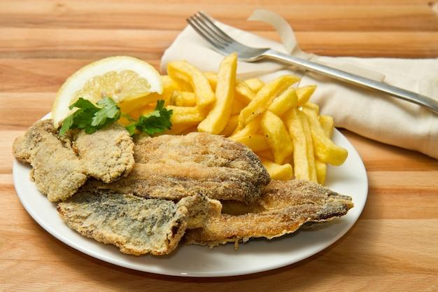 Sardines fried