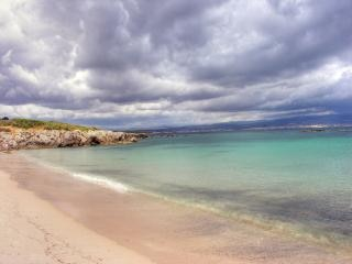 Sardegna costa in estate, italia