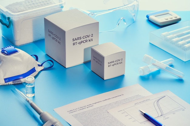 Sars-cov-2 pcr診断キット。