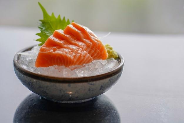 생선회 연어 세트, 생선, 일식, 선택적 포커스