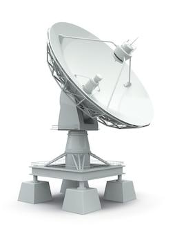 위성 접시. 커뮤니케이션.