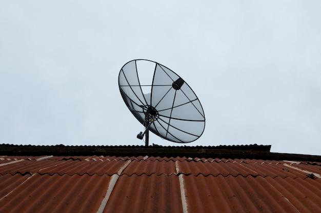 Satellite dishes communication technology network