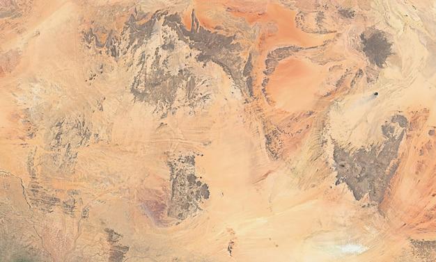 Satellite top view texture over egypt