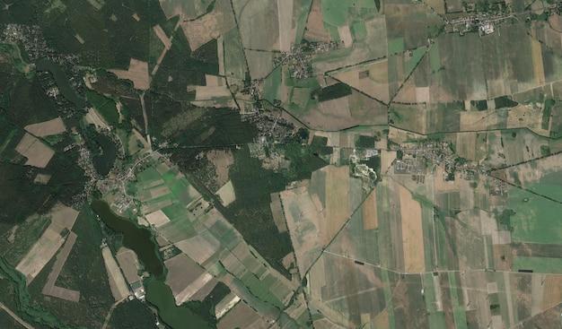 Satellite view texture